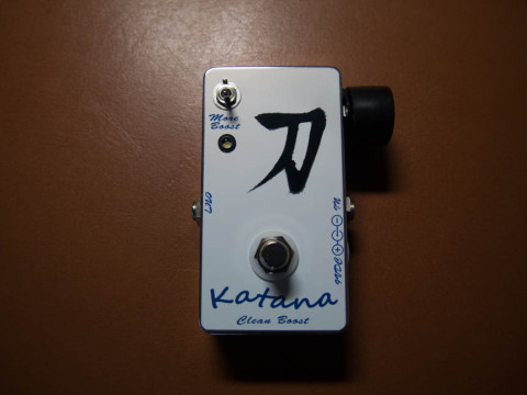 keeley katana boost 自作