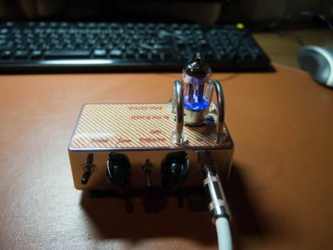 真空管ギターアンプ自作