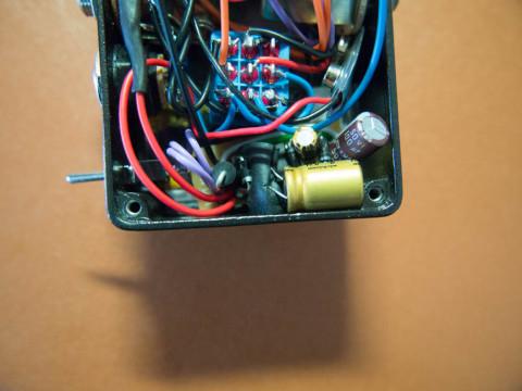自作エフェクター、昇圧回路