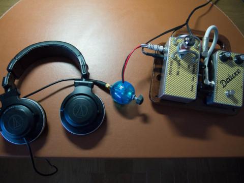 スピカー、ヘッドフォン変換アダプター