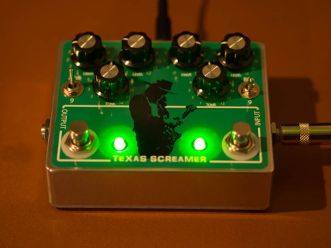 TS808(TS9)2in1ペダル