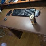 レザー調デスクパッド(デスクマット)を自作する