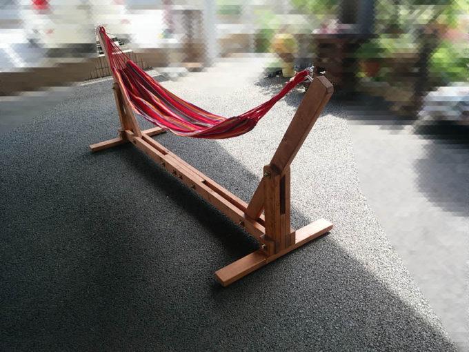 DIY ハンモックスタンド