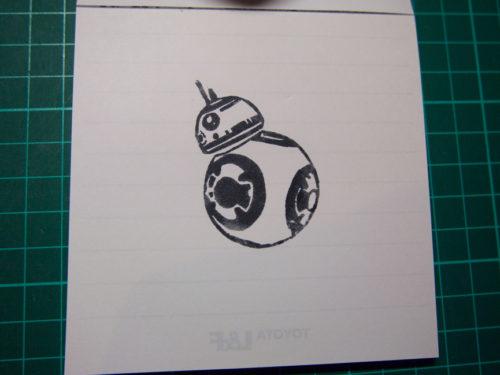 BB-8ハンコ