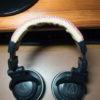 ヘッドフォン(ATH-PRO700)のヘッドバンドをどうせだから本革で張り替える