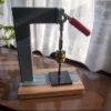 菱目打ち機(ハンドプレス機)の製作/自作
