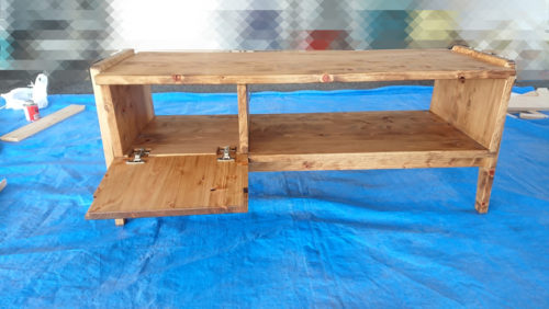 テレビボード自作木工