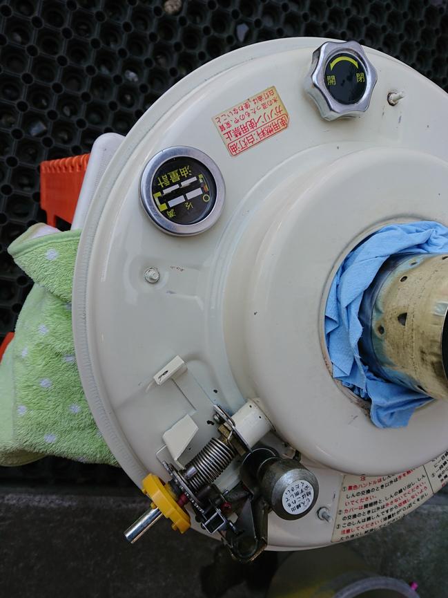 タンクの洗浄