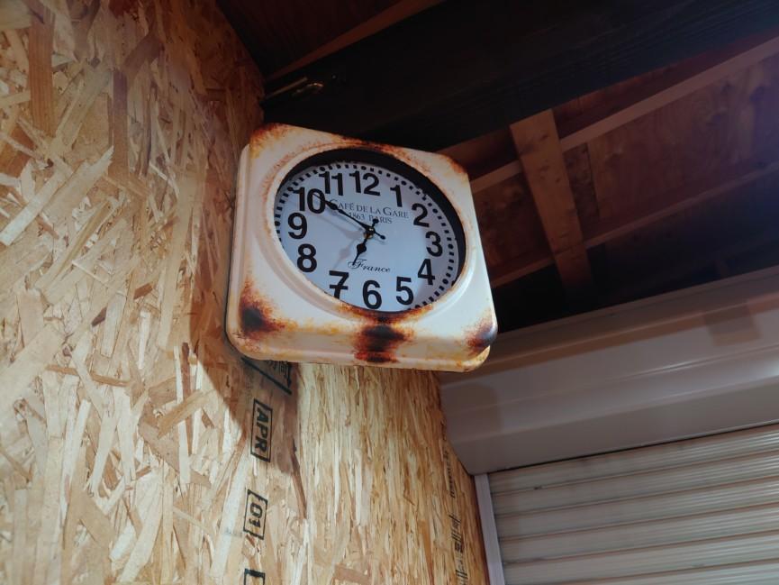 サビペイント時計